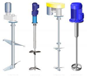 همزن مکانیکی مواد شیمیایی