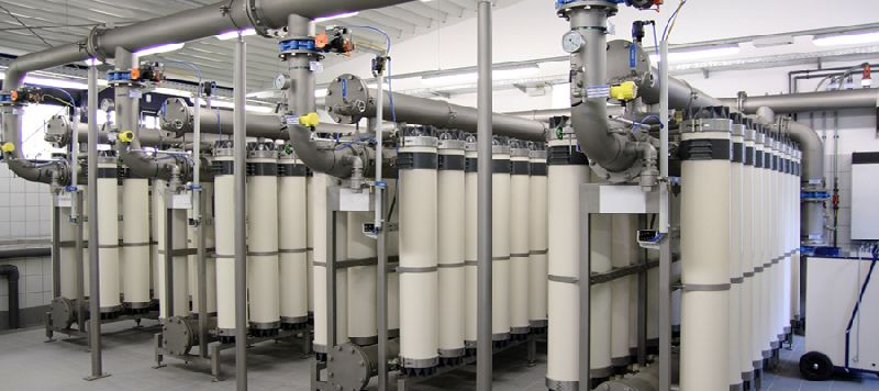 مراحل فیلتراسیون سیستم غشایی اولترافیلتراسیون (UF)